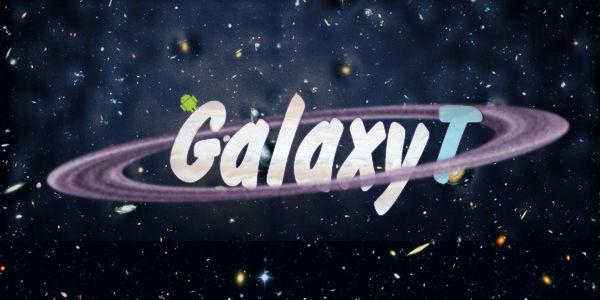 Логотип GalaxyT (PSD макет) купить