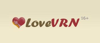 Логотип LoveVRN (PSD макет) купить