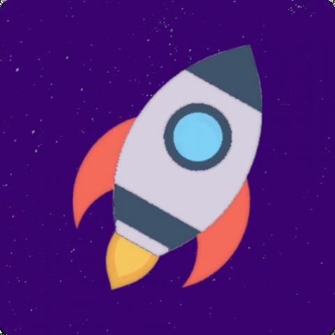 """Логотип игры """"Speed of Space"""" (PSD макет)"""