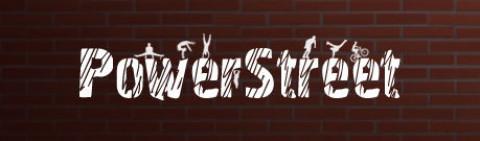 Логотип PowerStreet (PSD макет)