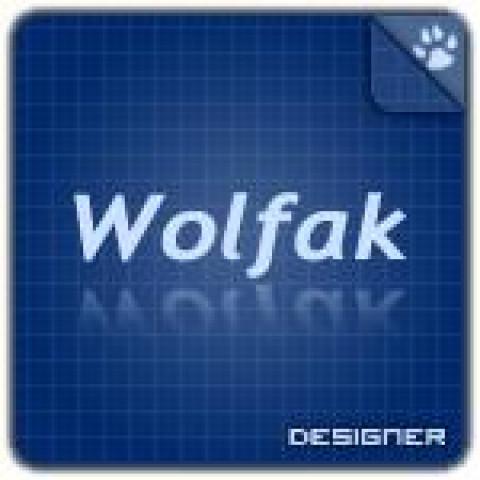 Аватар Wolfak Designer (150x150, PSD макет)