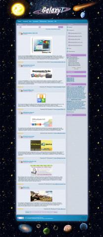 Сайт с новостями и файлами для Android - GalaxyT