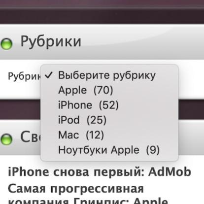 Новостной сайт Apple купить