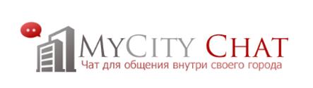 Логотип MyCity Chat (PSD макет) купить
