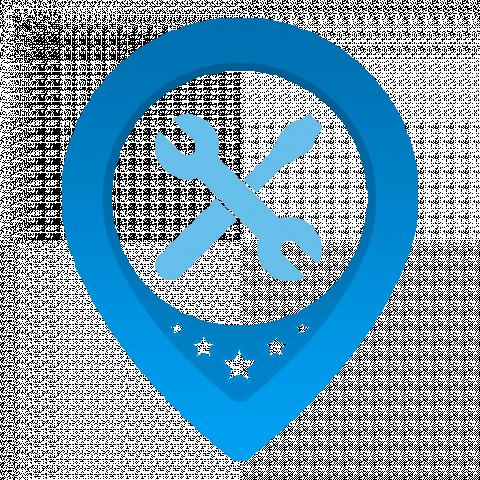 Логотип приложения reServicy (PSD макет)