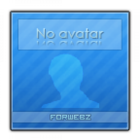 Аватар No Avatar для ForWebz (144x144, PSD макет)