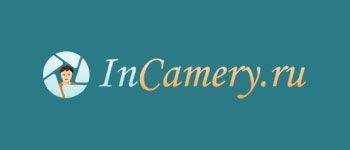 Логотип InCamery (PSD макет) купить