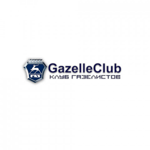 Логотип GazelleClub 2 (PSD макет)