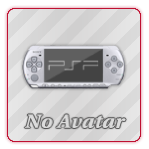 Аватар No Avatar PSP (150x150, PSD макет)
