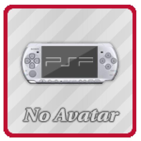 Аватар No Avatar PSP (150x150, PSD макет)