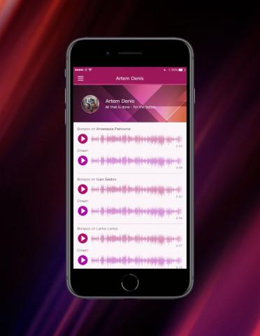 Две идеи аудио социальных сетей