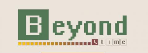Логотип Beyond Time (PSD макет)