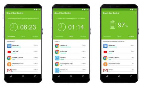 Дизайн приложения Smart Use Control