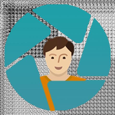 Логотип для приложения фото социальной сети с доходом InCamery