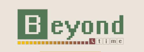 Логотип для игры Beyond Time