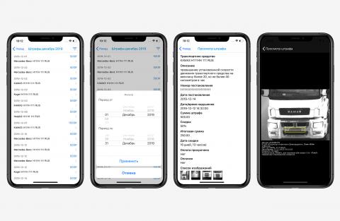 Система проверки штрафов транспортных средств iOS