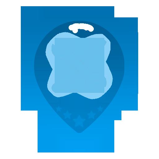 Логотип для приложения системы поиска сервисов reServicy