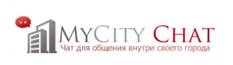 Логотип для проекта городских онлайн чатов MyCity Chat