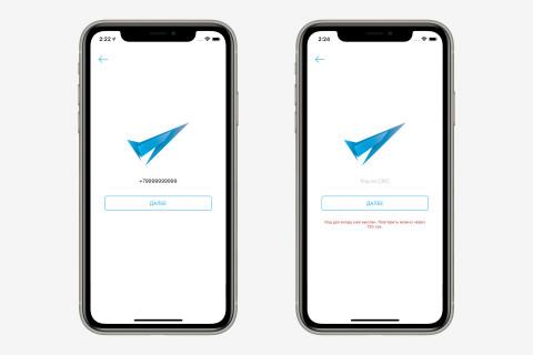 Обратный отсчет до повторного смс в iOS